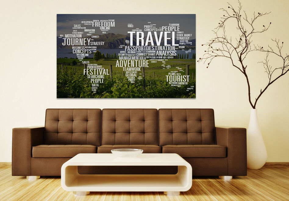 3D World Map 8712 Wall Stickers Vinyl Murals Wall Print Deco AJSTORE UK Lemon