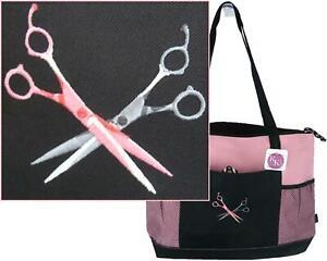 Hair Stylist Monogram Scarf Warm Black Fleece Shears Scissors Salon Beauty Gift