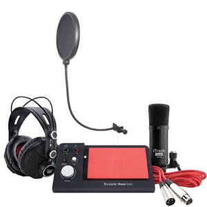 Details about Focusrite iTrack Dock Studio w/ CAD Audio VP1 VoxPop  Microphone Pop Filter
