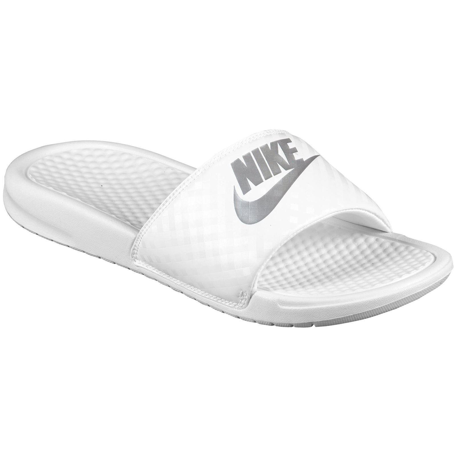 Nike Benassi Slides White All Sizes 5.5, Available UK 3.5, 4.5, 5.5, Sizes 6.5, 7.5 & 8.5 6137f9