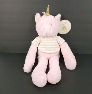 Puppy Makes Mischief Stuffed Animal, Kelly Baby Pink Unicorn Plush Rattle Stuffed Toy Doll Infant Baby Girl 15 Gift Ebay