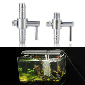 Image Is Loading Air Flow Line Stainless Steel Control Valve Aquarium
