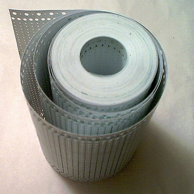 BLANK PUNCHCARD roll 110ft// 34 Meter Brother//Singer Knitting Machine All 4.5/&9mm
