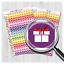 Mini Birthday Planner StickersRainbow Birthday StickersMSCPS-36