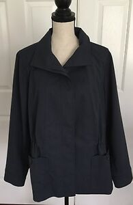 Size Creek Drawstring Blue Lined Blazer Jacket 16 Waist Coldwater Adjustable RgfSqWHa