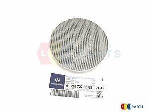 NEW-GENUINE-MERCEDES-MB-CLK-W208-FRONT-DOOR-SPEAKER-COVER-REAR-GREY-RIGHT-O-S