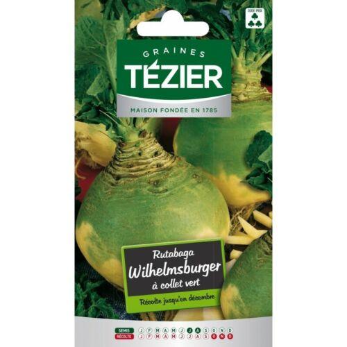 Rutabaga Wilhelmsburger à collet vert Tezier