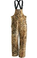 Cabela's 3d Backwaters Men's Waterfowl Waterproof 125 Gm Insulated Hunting Bibs