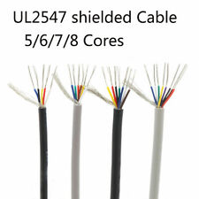Ul2547 Twist Shielded Cable Audio Signal Wire 1820 28 Awg 2345678 Cores