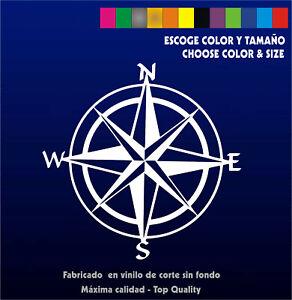 Pegatina-Rosa-de-los-Vientos-Vinilo-Vinyl-Brujula-Tuareg-Dakar-Sticker