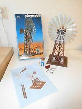 Playmobil Western windmill 3765 ovp train set