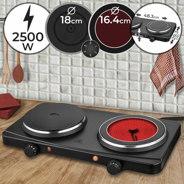 Kochplatte Kochfeld Einzelkochplatte Doppelkochplatte Herdplatte 1000 W 2000 W