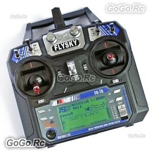 Details about FS-i6 Flysky AFHDS 2A 2 4GHz 6CH Radio Transmitter & FS-iA6  Receiver for RC Heli