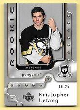 06/07 Upper Deck The Cup Platinum Rookie #151 Kristopher Letang #16/25