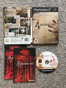 Resident-Evil-4-Limited-Edition-Steelbook-Tin-Sony-Playstation-2-ps2-Game-UK-PAL