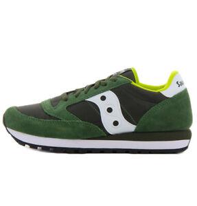 Detalles de SAUCONY zapatos de la zapatilla de deporte hombre JAZZ ORIGINAL 2044 275 verde y