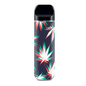 Details about Skin Decals for Smok Novo Pod Vape / 3D Holographic Week Pot  Leaf