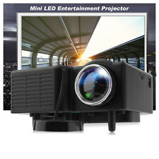 3000 Lumens HD 1080P 3D LCD Home Theater Cinema Projector LED Multimedia NEW HS