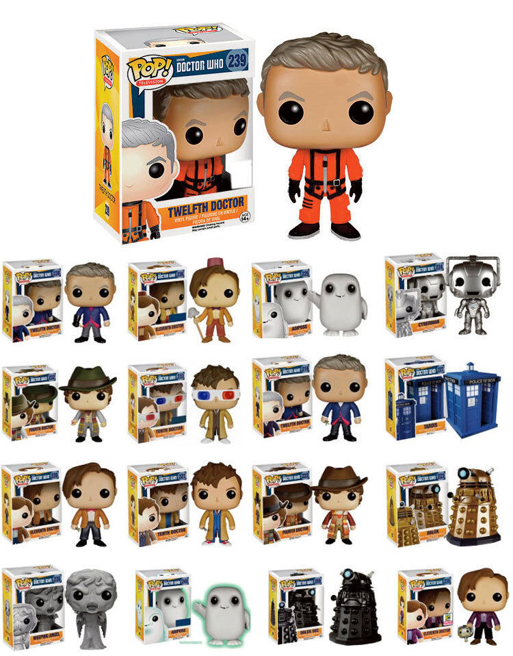 Doctor Who - Pop Figur 30 Designs Zur Auswahl - Funko Vinyl Figur