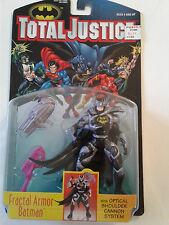 "BATMAN TOTAL JUSTICE FRACTAL ARMOR BATMAN 5"" ACTION FIGURE KENNER 1996 NEW"