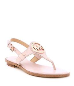 Michael Kors Aubrey Thong Sandals Pink