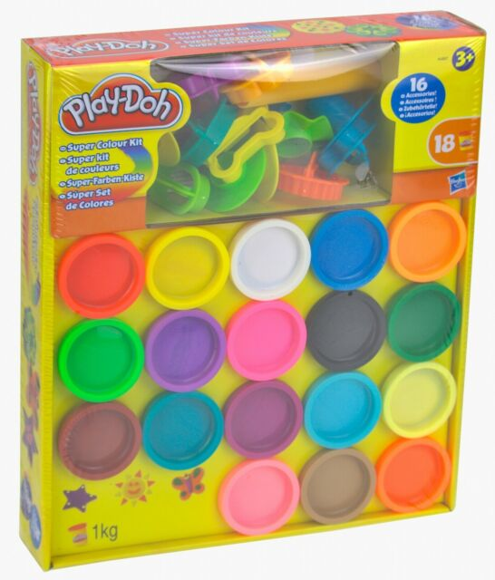 Hasbro B6766 Play-Doh Knetwerk Deluxe Set 30 Teile Kreativ-Set Knete NEU OVP