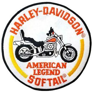 HARLEY DAVIDSON  DEUCE BIKER PATCH