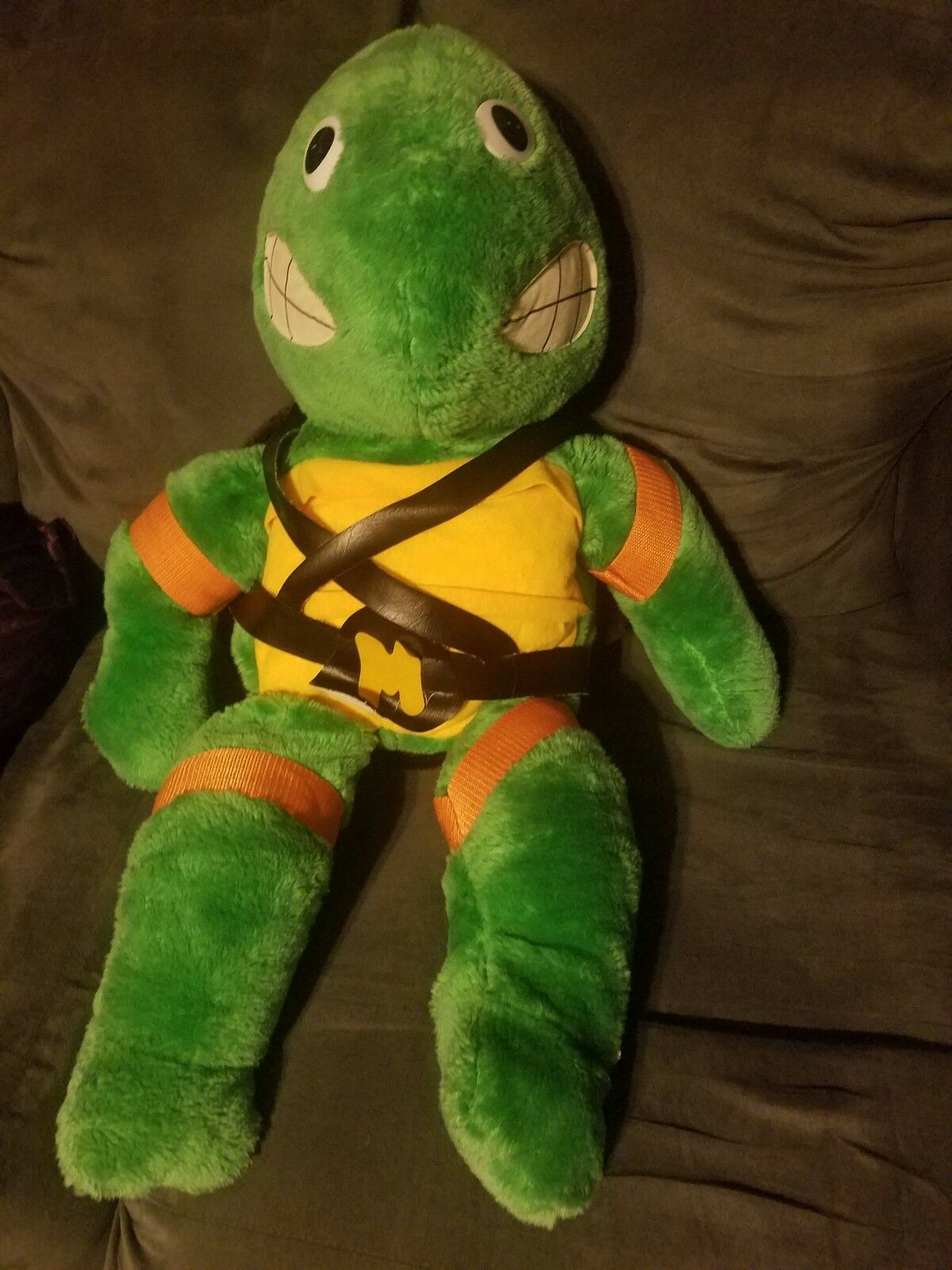 Teenage Mutant Ninja Turtles Michelangelo Jumbo Plush 90s