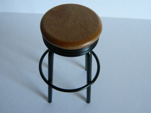 HP1.13 1//12th scale DOLLS HOUSE BAR//KITCHEN STOOL