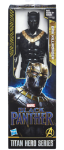 Marvel-Titan-Hero-serie-Erik-Killmonger-12-034-figure-Brand-New-amp-Sealed