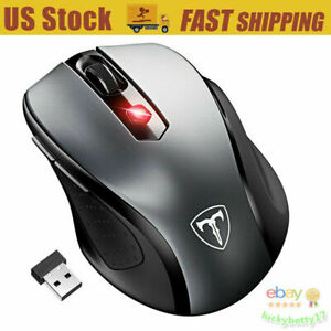 2400dpi 6 Buttons Gaming Mouse Usb Wireless Optical Mice For