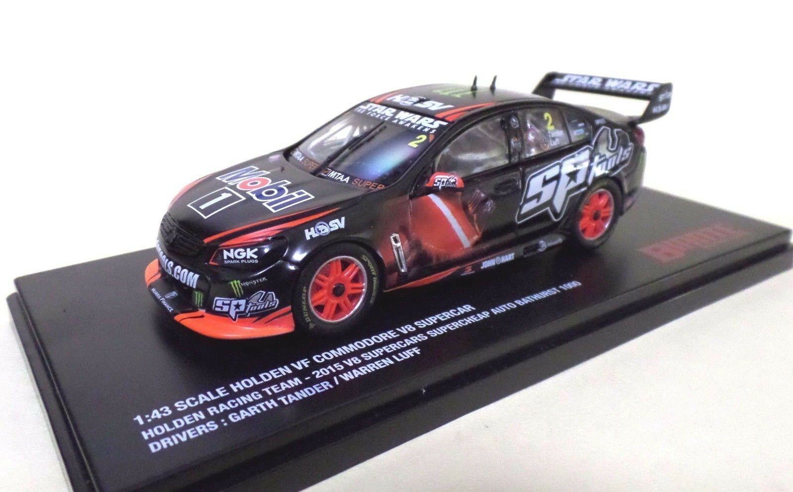 Tander/Luff Holden VF Commodore 2015 Bathurst - 1:43 scale Biante B43H15N