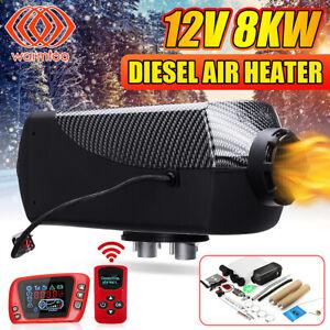 Warmtoo-12V-8KW-Diesel-Luft-Heizung-LCD-Thermostat-Fuer-Boot-Auto-Anhaenger-M