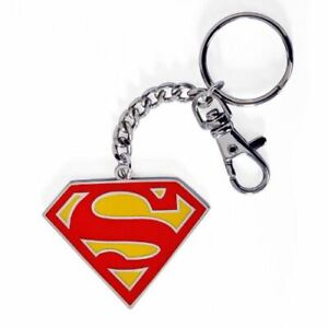 DC-Comics-Superman-Colour-Logo-Collectable-Keychain-Keyring-Justice-League