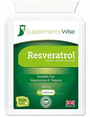Resveratrol Kapseln 90 x 150mg Blutdruck, Immunsystem..