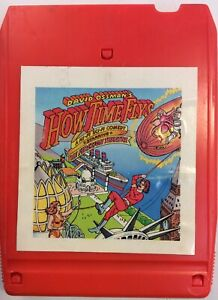 David-Ossman-039-s-1973-How-Time-Flys-starring-Firesign-Theatre-8-Track-Tape