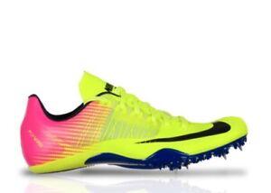 Details about Nike Zoom Celar 5 Track Sprint Spikes 882023 999 Volt Pink Men Size 11 NO SPIKES