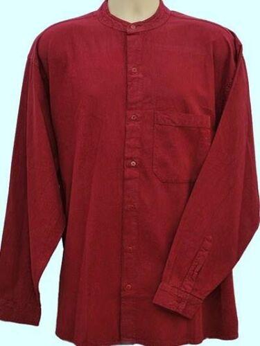 Maglia serafino pulsante attraverso stile Kaboo originali classici che Camicie SUPERBA