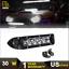 8/'/' 30w  Single Row LED light bar Ultra Thin  Driving Light Bar  SUV ATV UTE