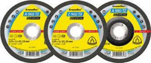 """25 Pack 5"""" Cut off wheels 125x1.0x22mm Cutting off wheel Ultra Thin Inox steel"""