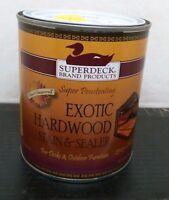 Duckback 25033 Exotic Hardwood Cherry Stain/sealer, 1qt, Free Shipping