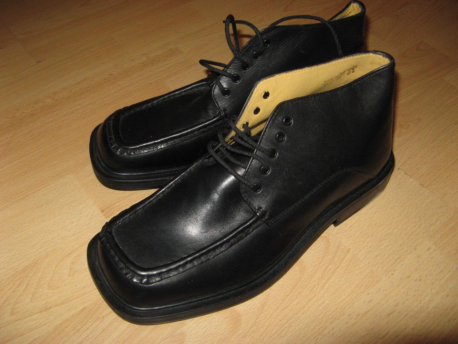 NUOVO in scatola Gabbrielli nera in pelle MORENA Gabbrielli scatola Fashion Stivaletti Taglia 9 EU 2595c3