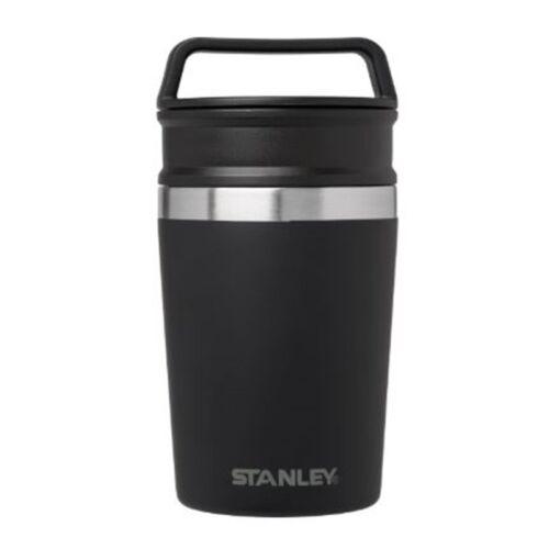 236ml Matte Black Stainless Stanley Adventure Vacuum Mug 8oz