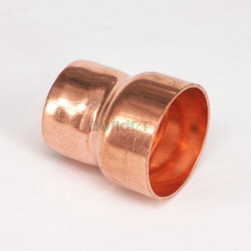 Acoplamiento reductor de alimentación 35x28mm final De Cobre Tubo montaje para gas agua aceite