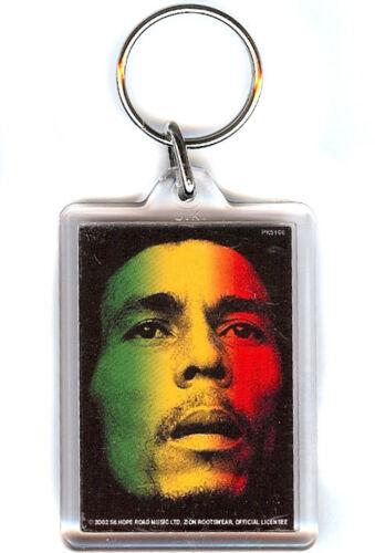 Bob Marley Face Keyring Schlüsselanhänger PYRAMID POSTERS