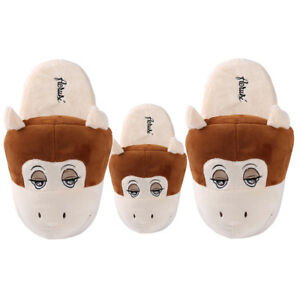Adult-Kid-039-s-Monkey-Animal-Plush-Stuffed-Slippers-Winter-Warm-House-Indoor-Shoes