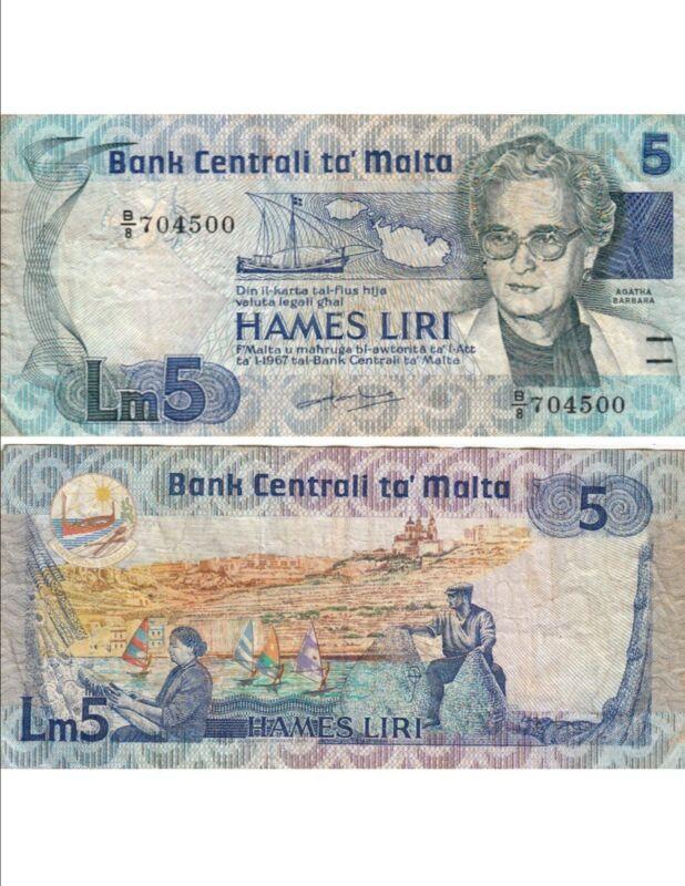 etat MALTA  MALTE   25 cents 1986