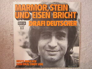 Single-DRAFI-DEUTSCHER-BEAT-RARITAT-70er-MARMOR-STEIN