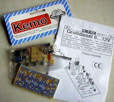 Bausatz Großdiesel 6 ... 12V - Kemo-Electronic