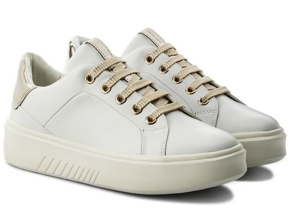 GEOX pelle NHENBUS D828DA scarpe donna scarpe da ginnastica pelle GEOX GEOX pelle tessuto ... b044ff